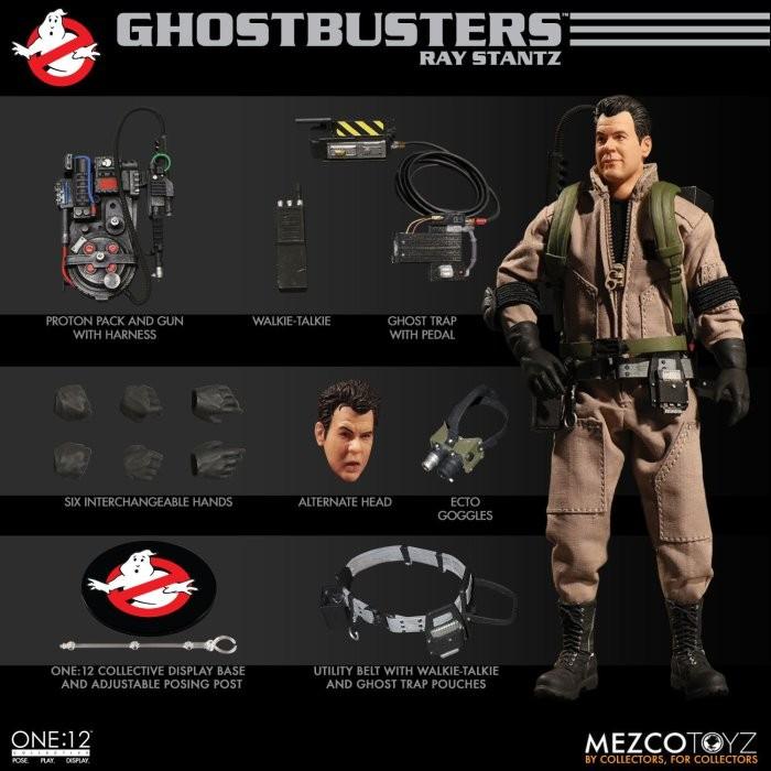 Mezco Ghostbusters Set23